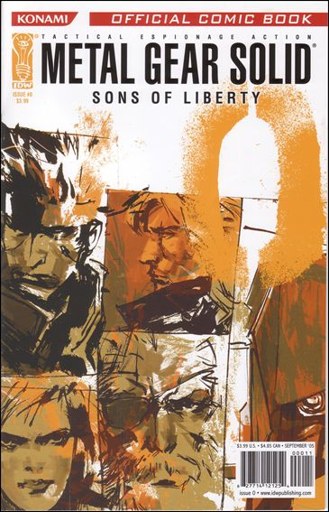 Metal Gear Solid: Sons of Liberty 0-A by IDW