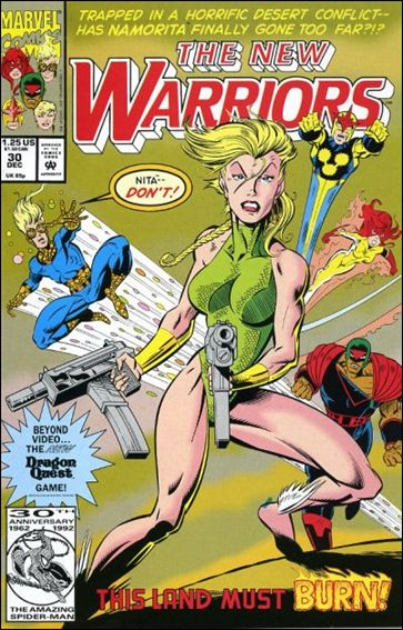 New Warriors (1990) 30-A by Marvel