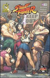 Street Fighter (2003) 11-A by Udon