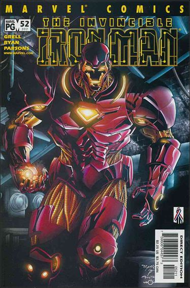 Iron Man (1998) 52-A by Marvel