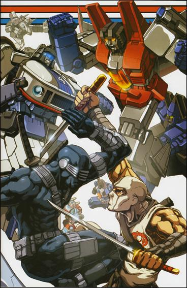 G.I. Joe vs the Transformers: The Art of War 3-C by Devil's Due