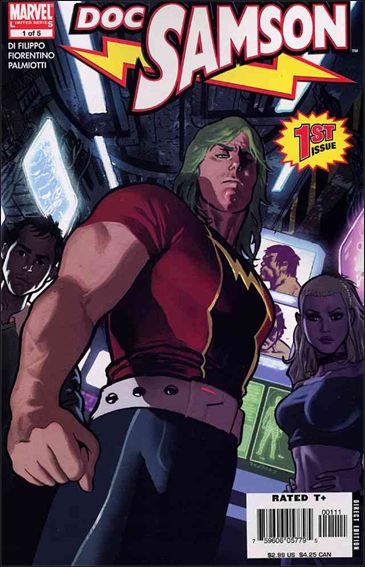 Doc Samson (2006) 1-A by Marvel