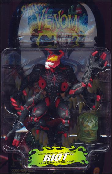 Venom: Planet of the Symbiotes Riot (Red) by Toy Biz
