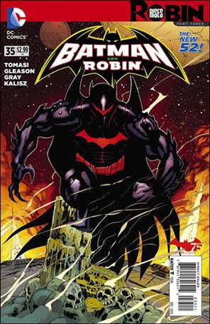 Batman and Robin (2011) 35-A