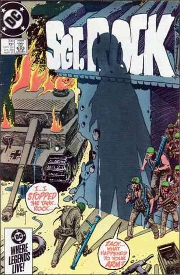 Sgt. Rock (1977) 398-A by DC