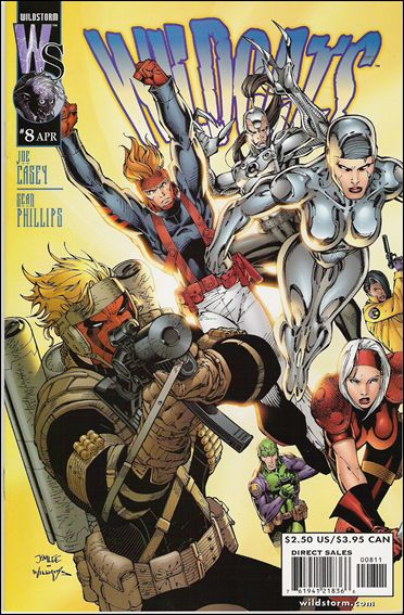 Wildcats (1999) 8-B by WildStorm