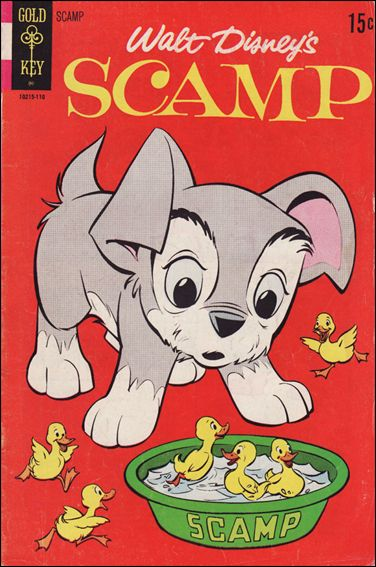 Walt Disney Scamp 6-A by Gold Key