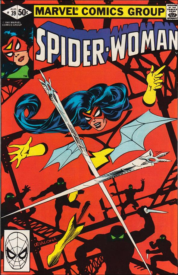 Spider-Woman (1978) 39-A by Marvel