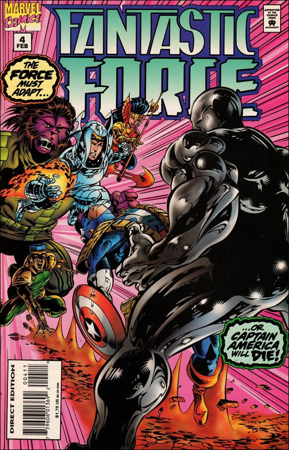 Fantastic Force (1994) 4-A by Marvel