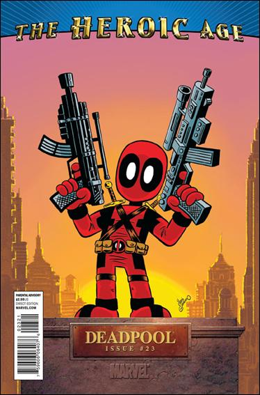 Deadpool (2008) 23-B by Marvel