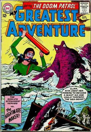 My Greatest Adventure (1955) 81-A by DC