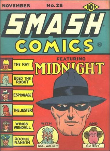 Smash Comics (1939) 28-A by Quality