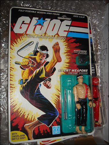 "G.I. Joe: A Real American Hero 3 3/4"" Basic Action Figures Quick Kick (Silent Weapons) by Hasbro"