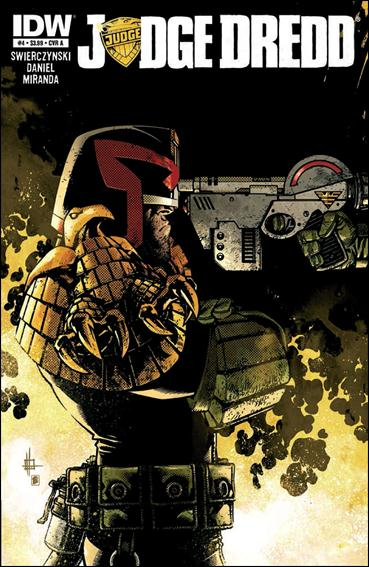 Judge Dredd (2012) 4-A by IDW