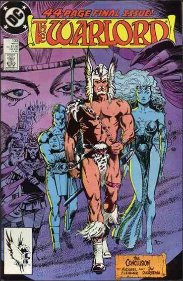 Warlord (1976) 133-A by DC