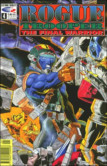 Rogue Trooper The Final Warrior 4-A by Fleetway Quality