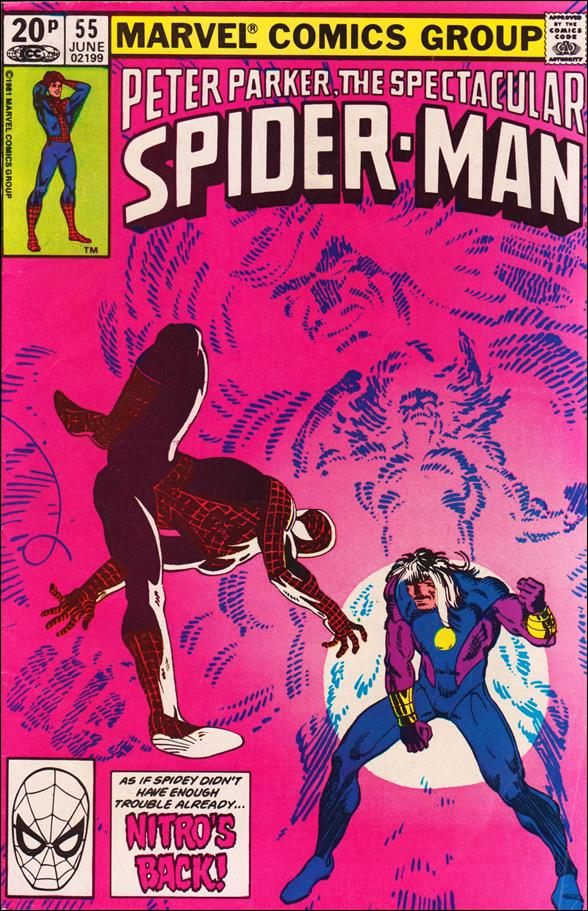 Spectacular Spider-Man (1976) 55-B by Marvel