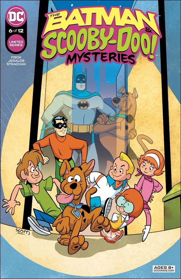 Batman & Scooby-Doo Mysteries 6-A by DC