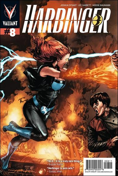 Harbinger (2012) 8-A by Valiant Entertainment