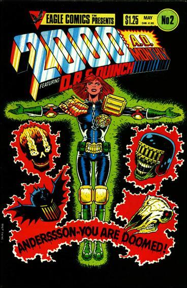 2000 A.D. (1986) 2-A by Eagle Comics