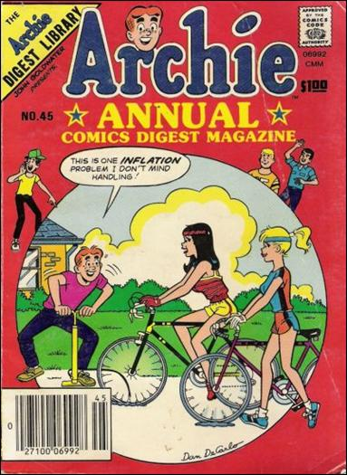 Archie Annual Digest Magazine 45-A by Archie