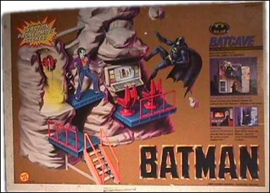Batman (Movie) Playset Batcave by Toy Biz