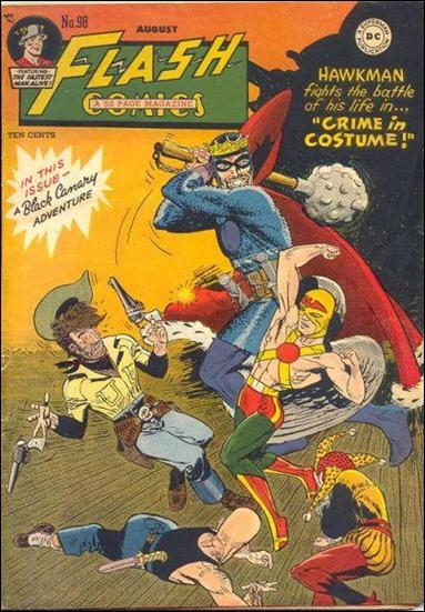 Flash Comics (1939) 98-A by DC