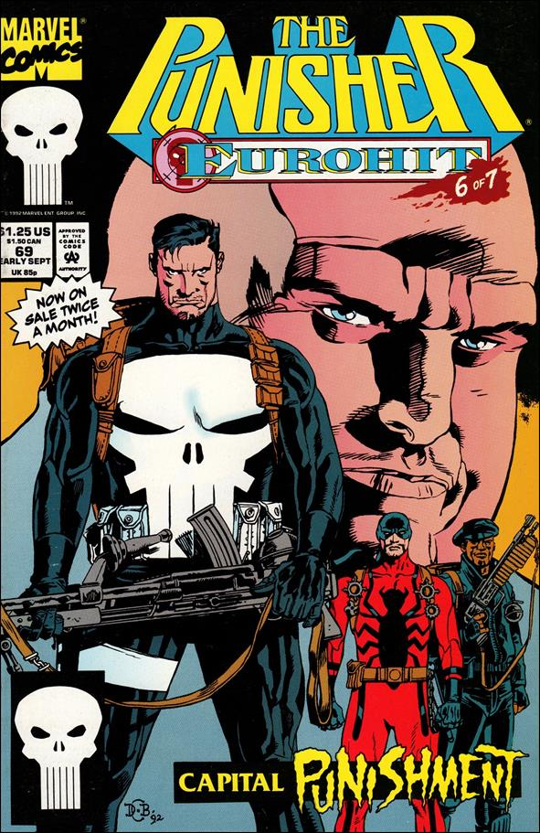 Punisher (1987) 69-A by Marvel