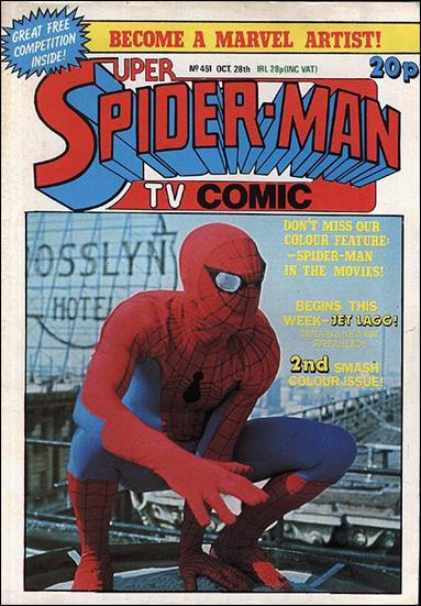Spider-Man: Comics Weekly (UK) 451-A by Marvel UK