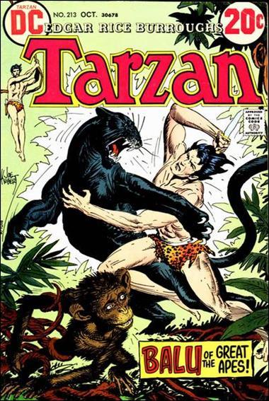 Tarzan (1972) 213-A by DC