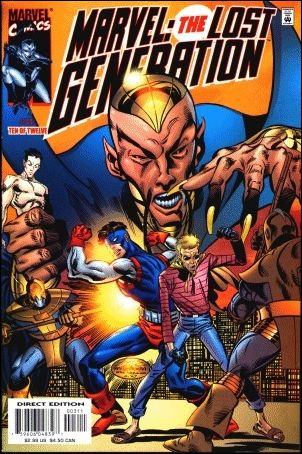 Marvel: The Lost Generation 3-A by Marvel