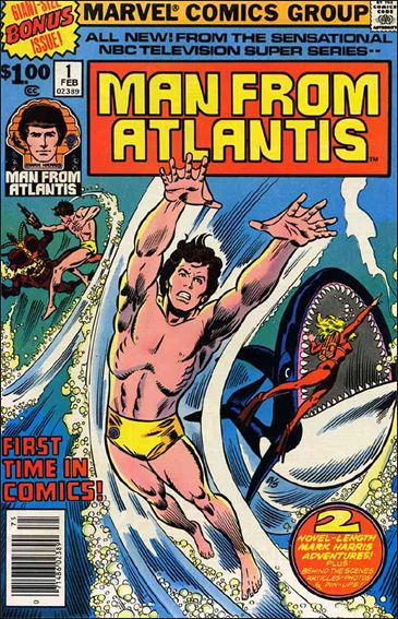 Man From Atlantis 1-A by Marvel