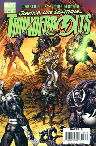 Thunderbolts (1997) 110-C by Marvel