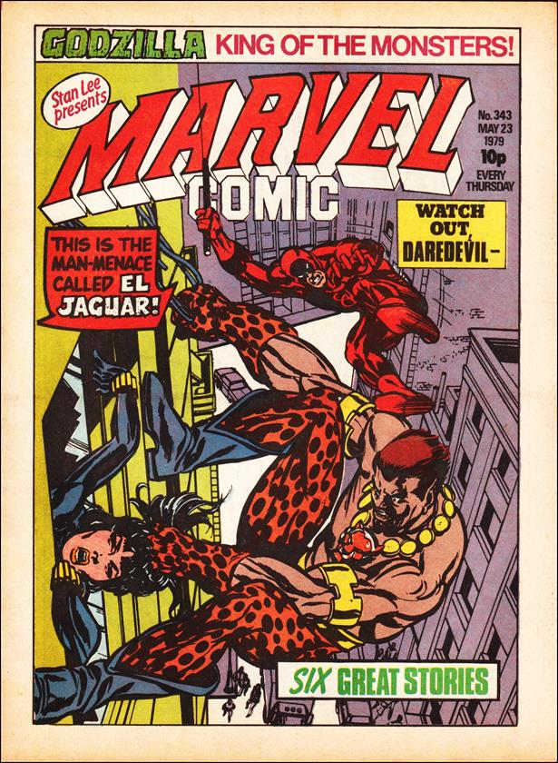 Marvel Comic (UK) 343-A by Marvel UK
