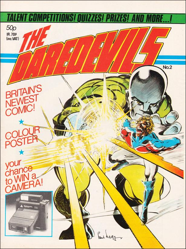 Daredevils (UK) 2-A by Marvel UK