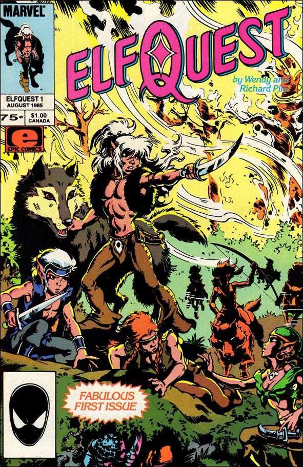 Elfquest (1985) 1-A by Epic