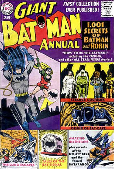 Batman Annual (1961) 1-A by DC