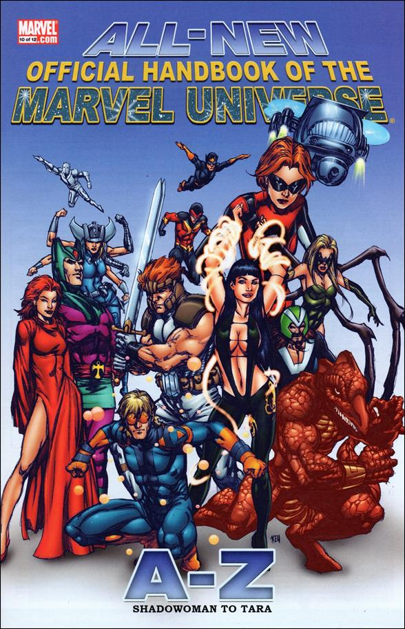 All-New Official Handbook of the Marvel Universe A to Z 10-A by Marvel