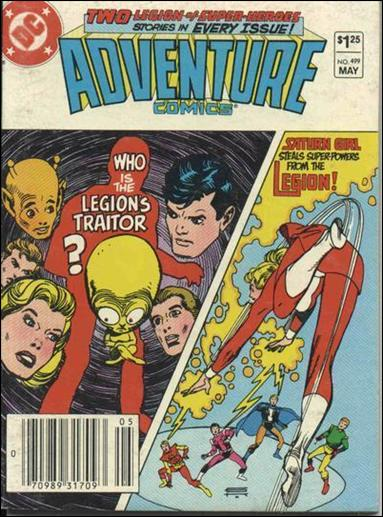 Adventure Comics (1938) 499-A by DC