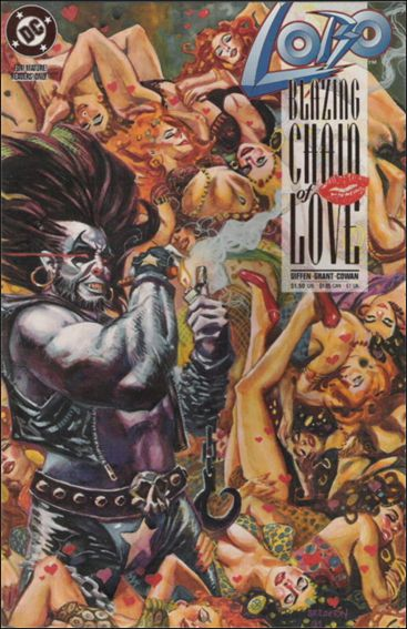Lobo: Blazing Chain of Love 1-A by DC