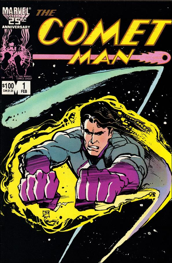 Comet Man 1-A by Marvel