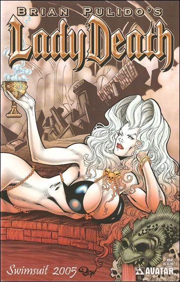 Lady Death: Swimsuit Special 2005-B by Avatar Press
