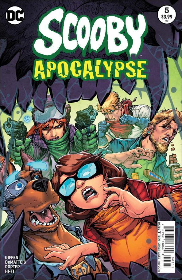 Scooby Apocalypse 5-A by DC