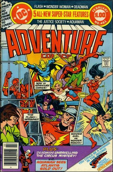 Adventure Comics (1938) 461-A by DC