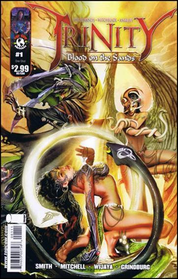 Darkness/Witchblade/Angelus Trinity: Blood on the Sands 1-A by Top Cow