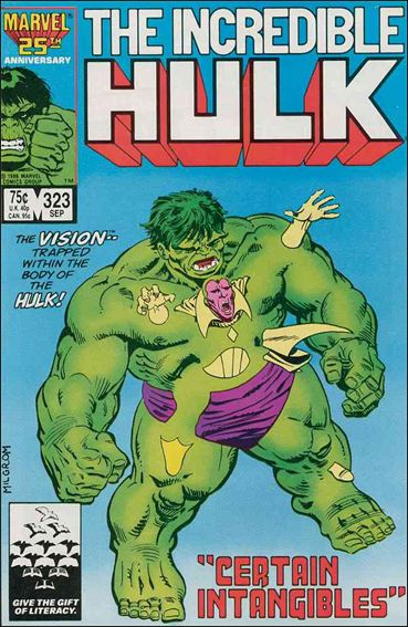 Incredible Hulk (1968) 323-A by Marvel