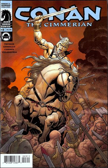 Conan the Cimmerian 3-A by Dark Horse