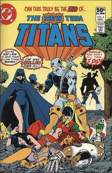 New Teen Titans (1980) 2-A by DC