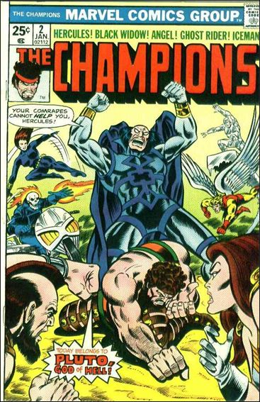 Champions (1975) 2-A by Marvel