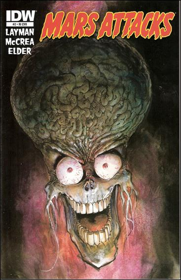 Mars Attacks (2012) 2-B by IDW